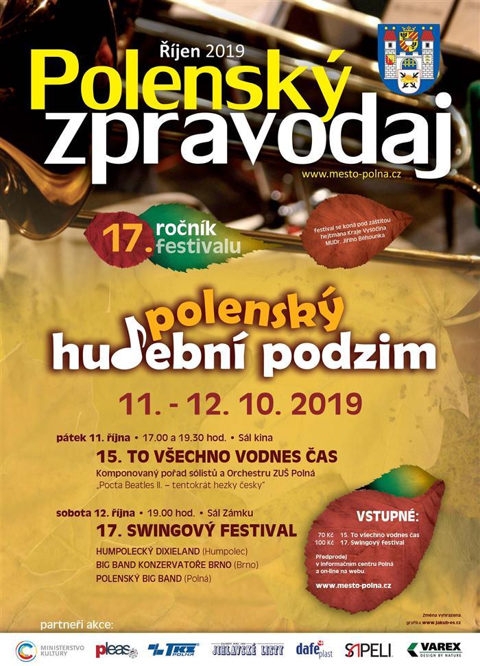 Swingový festival Polná 2019